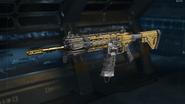 ICR-1 Gunsmith Model Gold Camouflage BO3