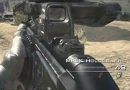 MP5k Holographic MW3