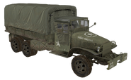 GMC CCKW model covered WaW