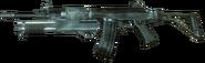 Galil with shotgun