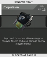 Propulsion Unlock Card IW