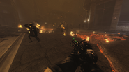 EMP Grenade on zombies BOII