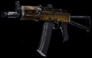 AK-74u Gold Gunsmith BOCW