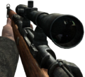 Kar98k sniper scope CoD2