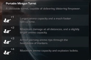Portable Minigun Turret Select Extinction CoDG