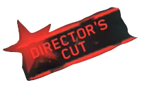 The Director's Cut logo when the Player has activated Director's Cut for that map