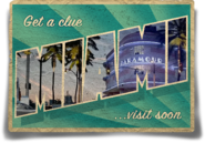 MiamiPostCard Front BestLaidPlans PawnTakesPawn