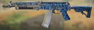 АК117 Синяя игуана