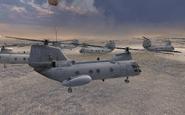 CH-46 Seaknight Enemy of My enemy MW2