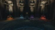 Fire Staff pedestal Origins BOII