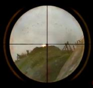 Springfield Sniper Scope Sights CoD2