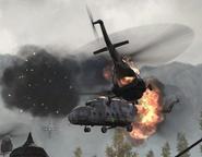 Mi-8s going down