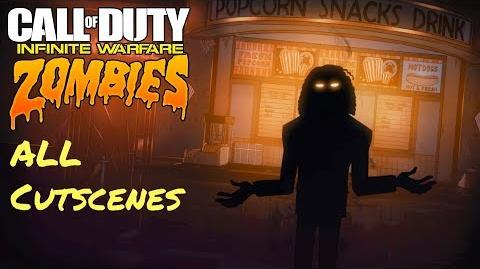 Call of Duty Infinite Warfare Zombies - All Cinematic Cutscenes