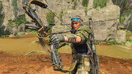 Outrider Sparrow third-person in-game BO4