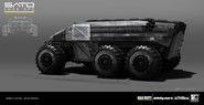 SATO APC Side Early Concept by Benjamin Last IW