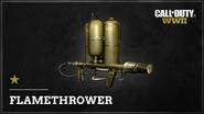 Flamethrower WWII