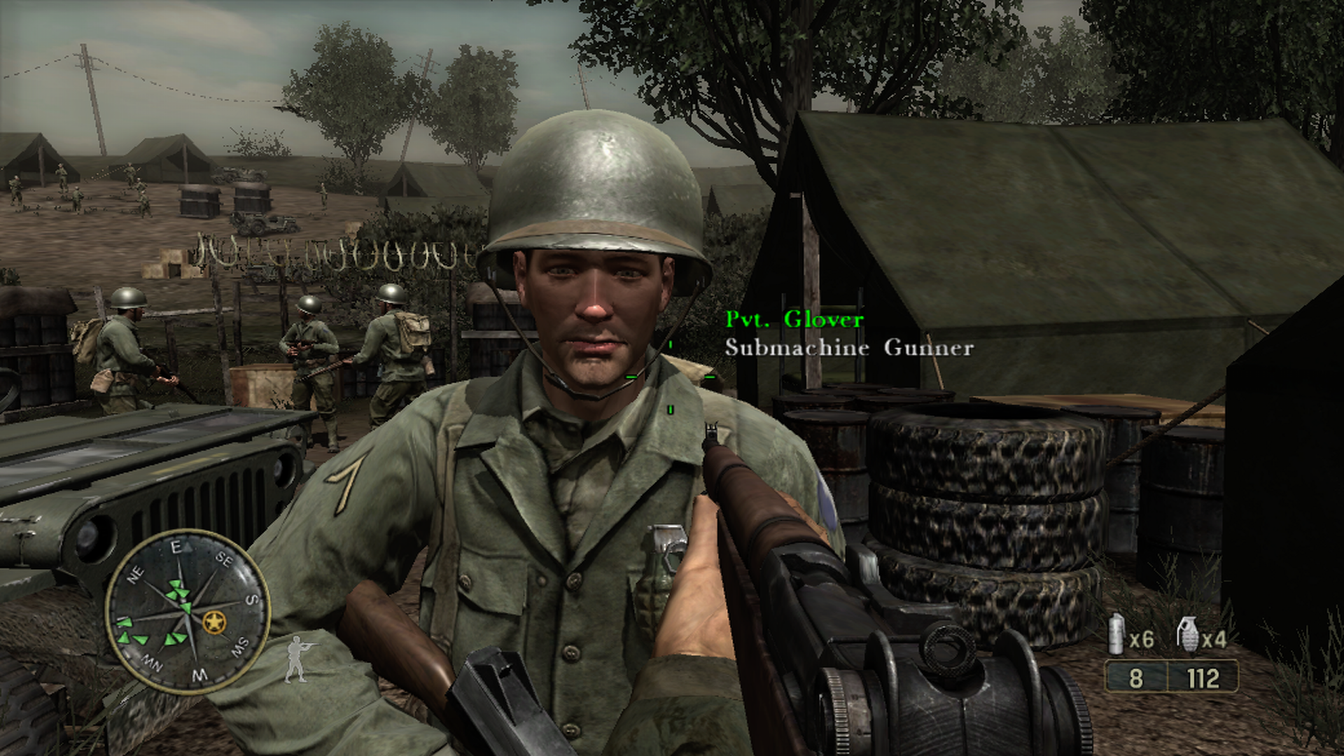Гловер (Call of Duty 3)