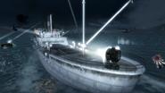 Каталины и корабль