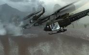 Flight of UH-1 Hueys Victor Charlie