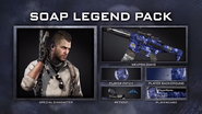 Legend pack soap
