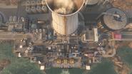 Meltdown aerial view BOII