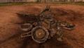 Разбитая артиллерия клюквенных русских 2