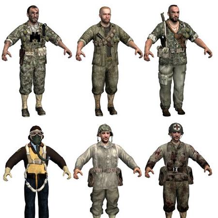 American character models WaW.png