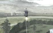 Blackhawk firing missiles COD4