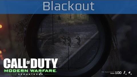 Call of Duty 4 Modern Warfare Remastered - Blackout Walkthrough HD 1080P 60FPS