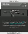 EBR-800 Unlock Card IW
