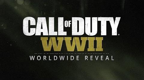 Official Call of Duty® WWII Reveal Livestream