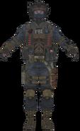 FBI Shotgun model BOII