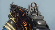 Peacekeeper MK2 First Person Cyborg Camouflage BO3