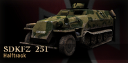 Sd Kfz 251 CoD3