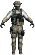 "Derek ""Frost"" Westbrook model MW3"