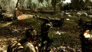Call of Duty World at War American Campaign Singleplayer Third Person Gameplay