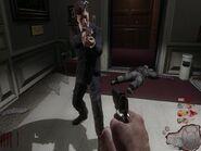 John Kennedy w Five w trybie zombie
