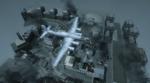 Бомбардировщик над руинами