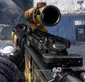M4A1 acog scope fall camo