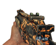 MP7 tiger camo