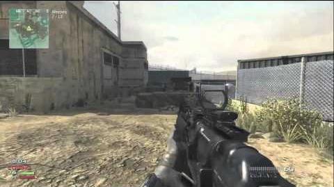 MW3 Gun Game epic win Xbox 360 gameplay