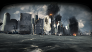 Downtown Manhattan 1st person pov Hunter Killer MW3