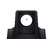 P90 Iron Sights MW3DS
