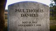 Paul Thomas Daniels Grave WWII