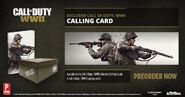 Preorder Calling Card Promo WWII