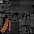 AK-74u cut texture MW2