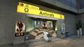 Express Arrivals corridor BOII