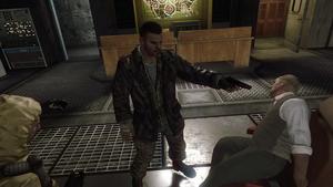 Alex Mason exécutant Steiner.