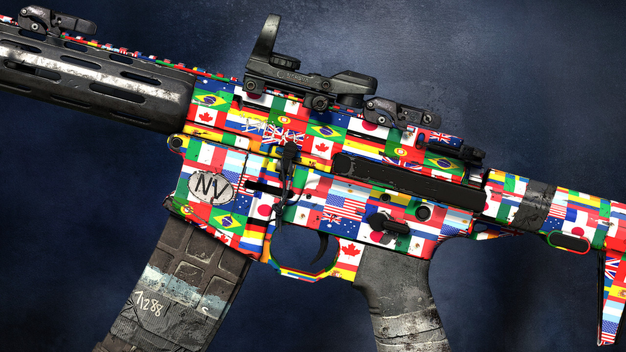 Flags of the World Camouflage