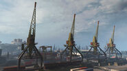 Port Cranes Verdansk Warzone MW